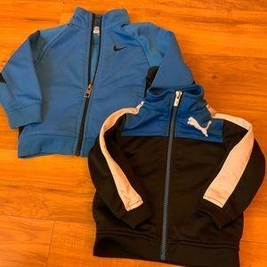 Boys Nike & Puma Sweaters (2 pieces)
